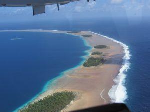 Ebon Atoll arrival
